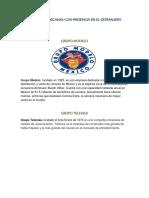 Empresas Mexicanas Con Presencia en El Extranjero