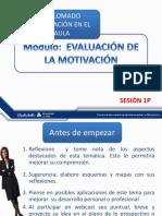 Sesion 1p Evaluacion de la motivación