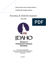 parenting and child development idaho state standards
