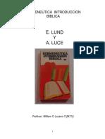 Lound E - Hermeneutica Introduccion Biblica