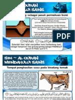 Siri Al Quran Mendahului Sains