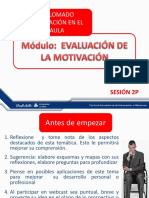 Sesion 2p Evaluacion de la motivacion