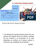 LEC7 Comunicación y Relaciones Interpersonales