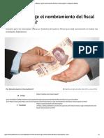 24-10-17 ¿En México, urge el nombramiento del fiscal anticorrupción.