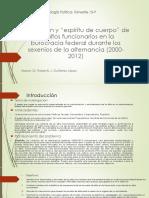 Seminario IX- Sociología Política- Trimestre 15-P