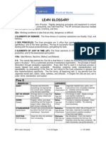Lean Glossary