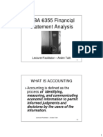 Financial Reporting and Statements - Powerpoint