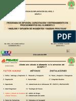 05. Inv. y Dif. de Incidentes y B.P.