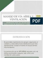 MANEJO DE VÍA AÉREA