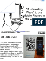 33 Interesting Ways to Use Mobile  Devices in the Classroom