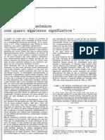 Tabela de Pesos Atomicos Com Quatro Algarismos Significativos