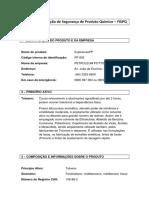 Ficha de Informação de Segurança de Produto Químico - ToLUENO (TRABALHO)II