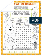 Halloween Wordsearch Wordsearches 60035