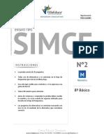 ENSAYO SIMCE MATEMATICA 8BASICO pdf