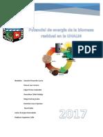 Informe de Biomasa Residual