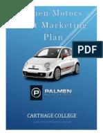 palmen automotive fiat marketing plan