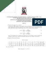 Econometria - Lista 2