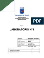 Laboratorio 1 Fundamentos Ing. Eléctrica