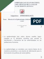 1 Epidemiologia, Historia, Funciones Epi 2014-2