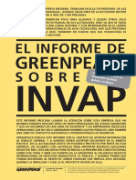 Informe Greenpeace Sobre Invap