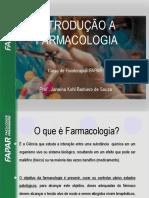Aula 1 - Farmacologia Para Fisioterapia