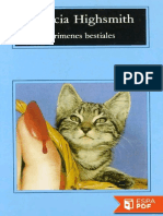 Crimenes Bestiales - Patricia Highsmith (1)