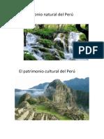 Patrimonio Natural Del Perú