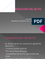 Interpretación Del Rctg