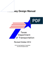Roadway Design Manual - Texas DOT