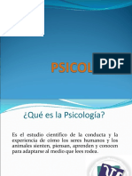 I Definición Psicologia