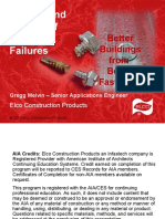 Causes and Control of Fastener Failures
