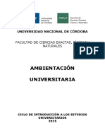 Ambientacion Universitaria ME CINEU 2015