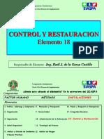 18. Control y Restauración SIASPA EN MATERIA DE SEGURIDAD INDUSTRIAL