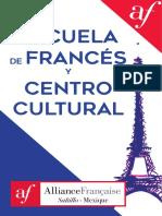 Informacion Alianza Francesa de Saltillo - Sept 2017