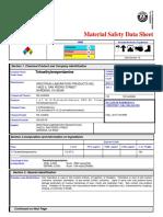 MSDS Tetraethylene Penyamine (TEPA)
