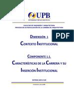 1.1 Ministerio - Caracrerísticas de La Carrera