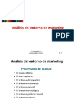 Análisis del entorno de Marketing