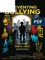 Preventing Bullying Through Science Policy and Practice Prepublication Copy