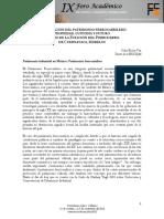 CONSERVACIÓN DEL PATRIMONIO FERROCARRILERO