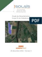 Etude de Réverberation - Châtellerault
