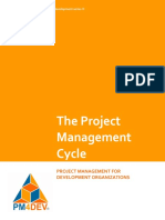 PM4DEV the Project Management Cycle
