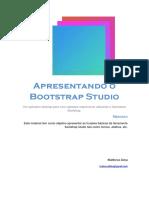 Apresentando o Bootstrap Studio