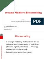 Ziberna - Dynamic Multilevel Blockmodeling - AS2017