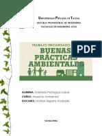 BUENAS PRACTICAS AMBIENTALES