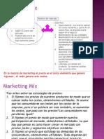 Estrategia-De-precio Marketing Mix Usc