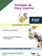 3. Estrategias de Escritura Creativa
