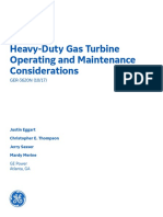 Ger 3620n Heavy Duty Gas Turbine Operationg Maintenance Considerations
