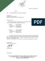 Contoh Surat Balasan KKL