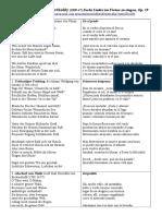 Mendelsohn-secheslieder Op.59. Traducciones.
