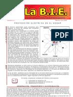 BIE5, Protección electrica en el Hogar